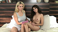 Heather and Shyla are sex experts discussing the ins and outs
