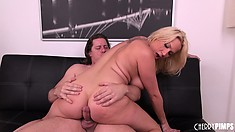 She rides that dick with the excitement of a woman eager to fulfill her urges