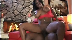 Brandy Dearborn can't wait to ride Mike's awesome hard rod of pleasure