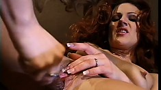 Horny lesbian bitches with great asses bang like total freaks