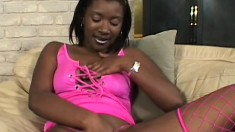 Nina spreads her legs to take every inch of Byron Long's member