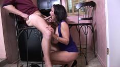 Lustful milf with amazing big boobs Persia Monir needs to get fucked