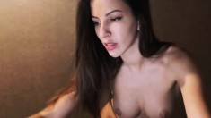 Gorgeous Cute Babe Fingering And Toying Pussy