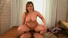 Dudes friend is going after his mother and gets wanked and pounds pussy