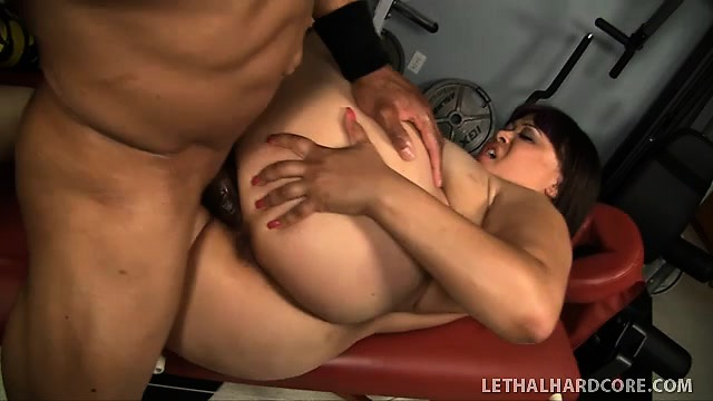 Sexy naked girl o face with dick in ass