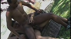 His gay Latino buddy gives him all the benefits of his horny boyfriend