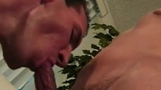 Rich Rains and his college frat brother share their love of man meat
