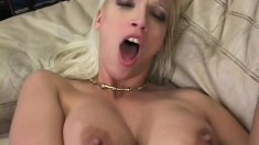 Nikki gets horny during her photo shoot and fucks her photographer
