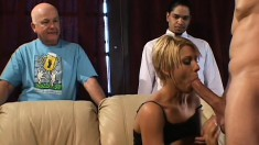 Husband wants to see his dazzling wife getting fucked by another guy