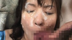 These naughty Oriental girls are addicted to rough sex and hot semen