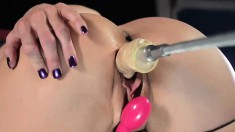 Busty milf with a fabulous ass Kendra Lust fucks her favorite sex toys