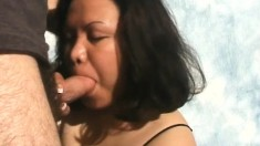 Brittany enjoys feeling a bulging cum gun in her lusty mouth