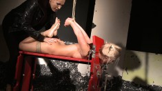 Ravishing Blonde Nikky Thorne Learns A Lesson She Won't Forget So Soon