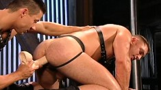 Delightful Stud With A Sublime Ass Goes Crazy For His Partner's Cock