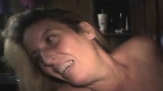 Lustful mature whore Lisa loves to suck and stroke a throbbing shaft