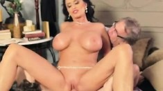Big Blackass beauties big boobs get cumshot