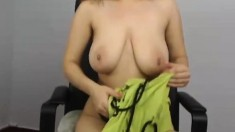 Big boobs amateur bondage