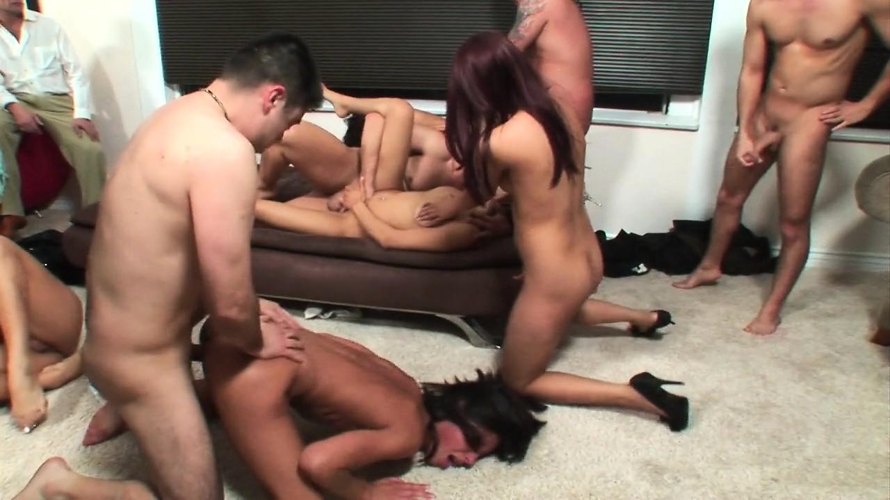 Group sex gangbang