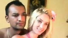 Blonde beauty and her shiek lover webcam sex