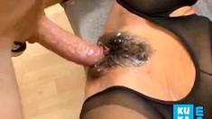 German Milf Creampie And Facial