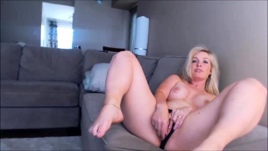 Blonde Mature Amateur Solo