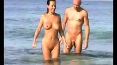 Nude Beach - Hot Foursome (full Version)