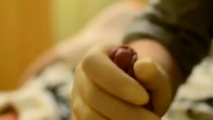 Nurse Handjob With Wet Latex Gloves