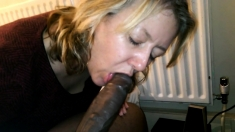 She Sucks My Black Dick Again