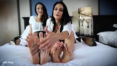 Lesbian Has A Foot Fetish