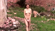 Outdoor nude walk 7